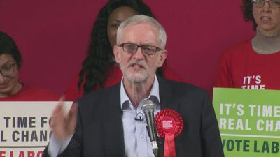 Corbyn: Clearest choice in the election in British history