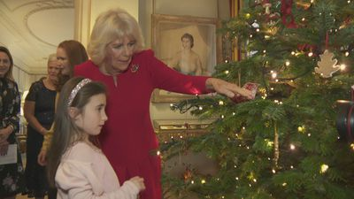Duchess of Cornwall invites children into Clarence House