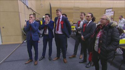 Newcastle reacts to exit poll: Race to declare first begins