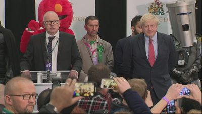 Boris Johnson holds Uxbridge & Ruislip South