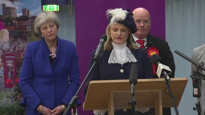 Theresa May retains seat in Maidenhead