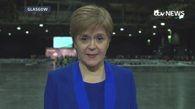 Sturgeon: Scotland has sent a strong message
