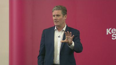 Keir Starmer launches leadership campaign in Manchester
