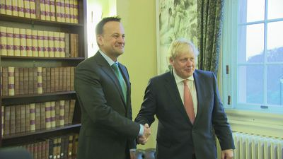 British and Irish Prime Ministers meet in Belfast