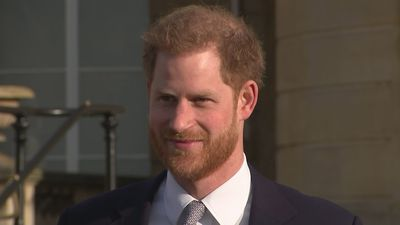 Prince Harry meets budding Rugby League players