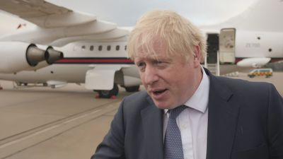 Boris wishes Harry and Meghan well at conference on Libya