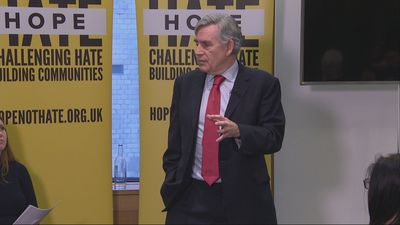 Gordon Brown calls for fight against nationalism