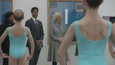 Duchess of Cornwall Enjoys Student Ballet School Performance