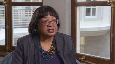"Diane Abbott ""very concerned"" over knife crime"