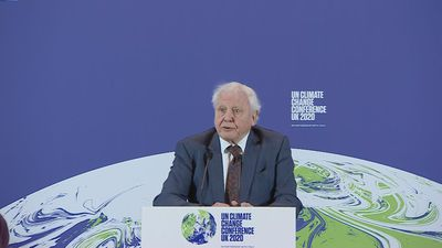 Attenborough encouraged by plans to tackle climate change