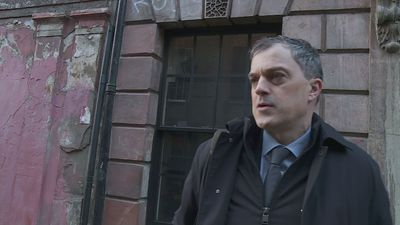 Julian Smith speaks before being sacked from government