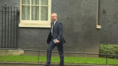 Senior cabinet ministers arrive at 10 Downing Street
