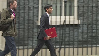 Cabinet ministers depart Downing Street after first meeting