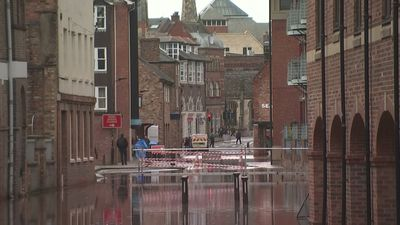 York flooded after River Ouse burst its banks