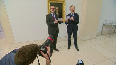 New £20 banknote launches featuring artist Turner