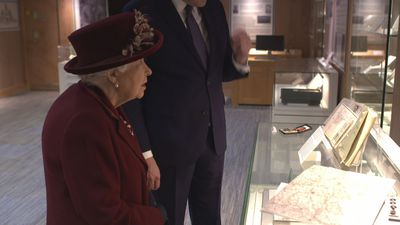 The Queen visits the MI5 HQ in London