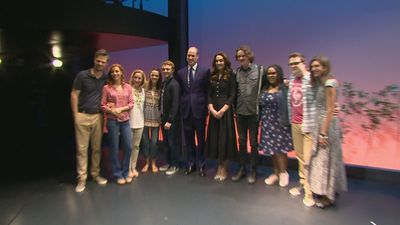 Duke and Duchess of Cambridge at 'Dear Evan Hansen'