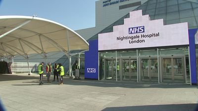 Work begins to get NHS Nightingale Hospital open