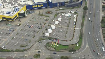 North London Ikea becomes coronavirus test centre