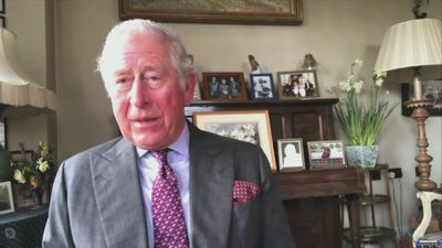 Prince Charles on video link opens 4,000 bed field hospital in London