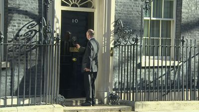 Chris Whitty visits Downing Street after self-isolation
