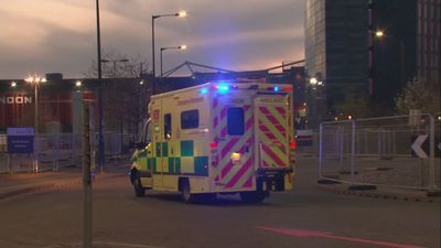 First ambulances arrive at Nightingale London