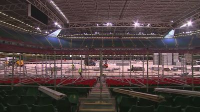 Inside the transformation of Cardiff's Principality Stadium
