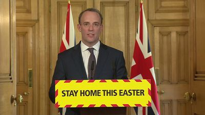 Dominic Raab: 'It's still too early to lift measures'