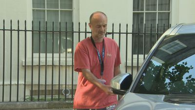 Dominic Cummings leaves No 10 after speaking to PM