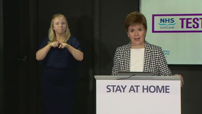 Nicola Sturgeon announces Test and Protect strategy will launch on Thursday