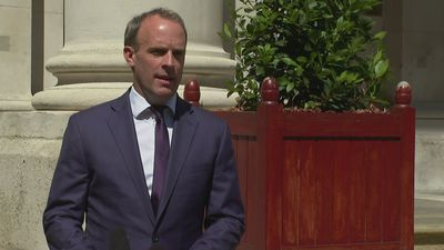 Raab: Chinese legislation would violate Hong Kong's autonomy
