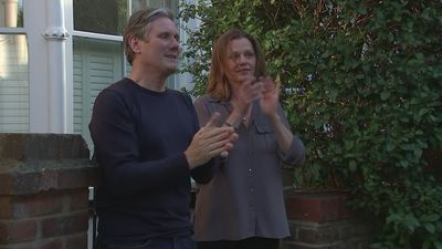 Sir Keir Starmer joins final 'Clap for Carers' event