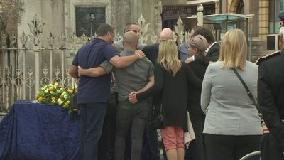 Vigil held for Reading attack victims