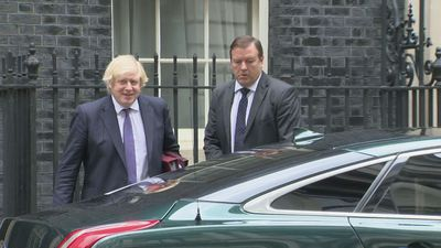 Boris Johnson departs for Prime Minister's Questions