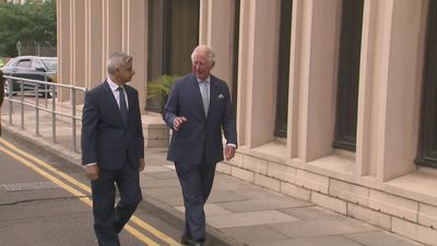 Prince Charles thanks TFL staff for keeping services running