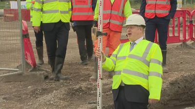 """PM: """"This factory will be building the trains of the future"""""""
