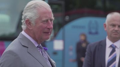 Prince Charles visits holiday business impacted by Covid-19