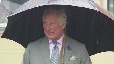 Prince Charles visits Prince Charles Hospital in Wales