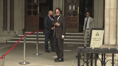 Depp and Heard arrive for day seven of libel trial