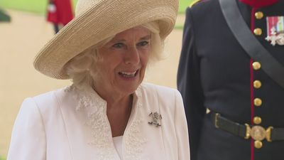 Camilla visits Royal Hospital Chelsea