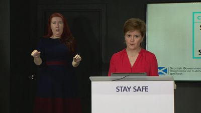 Sturgeon: Biggest step for Scotland out of lockdown today