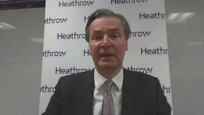 Heathrow CEO proposes two-stage testing process