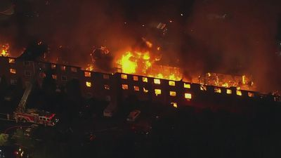Massive Apartment Fire Breaks Out in Pennsylvania