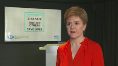Sturgeon: Welcomes Boris' 'quick action' on lockdown