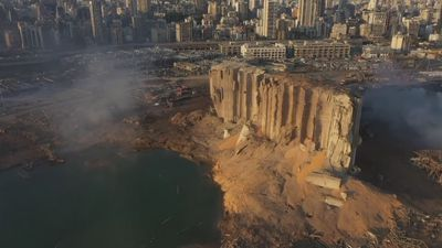 Beirut Blast: Aerial Footage Shows Scale of Destruction