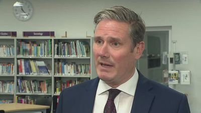 Starmer on A-levels: 'Something has gone horribly wrong'