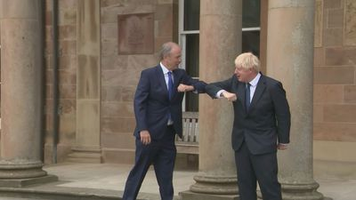 PM and Taoiseach meet in Northern Ireland