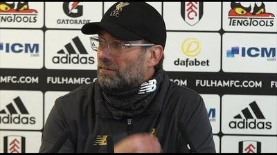 Pleased with how we reacted to equaliser - Klopp