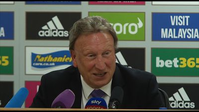 Penalty was a soft one - Warnock