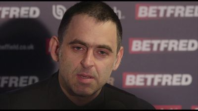 Ronnie O'Sullivan post James Cahill defeat